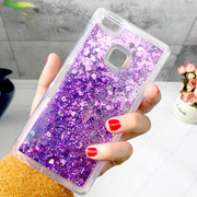 ZFTANG For Funda Huawei P9 Lite Case Silicon Glitter Liquid Soft TPU Phone Cases For Coque Huawei P9 Lite 2016 Case Cover Back