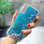 ZFTANG Glitter Liquid Case For Huawei P20 Case Silicone Soft TPU Quicksand Phone Cases For Coque Huawei P20 Pro Case Back Cover