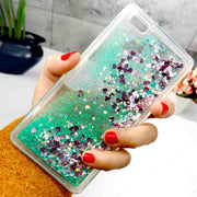 ZFTANG Glitter Liquid Case For Huawei P8 Lite Case Silicone Soft TPU Phone Cases For Coque Huawei P8 Lite 2016 Case Back Cover