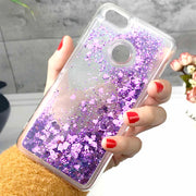 ZFTANG Glitter Liquid Case For Huawei P9 Lite Mini Case Cover Silicone Soft TPU Phone Cases For Huawei P9 Lite Mini Case Fundas