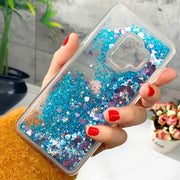 ZFTANG Glitter Liquid Case For Samsung Galaxy S9 Case Silicone Soft TPU Back Phone Cases For Samsung Galaxy S9 Plus Case Cover