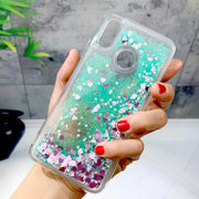 ZFTANG Glitter Liquid Case For Xiaomi Redmi Note 5 Case Silicone Soft TPU Phone Cases For Xiaomi Redmi Note 5 Pro Case Cover