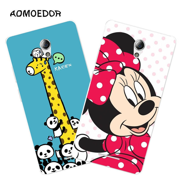 ZTE Blade A110 Case,Silicon Cartoon Animal Painting Soft TPU Back Cover For ZTE Blade A110 Phone Fitted Bags Shell