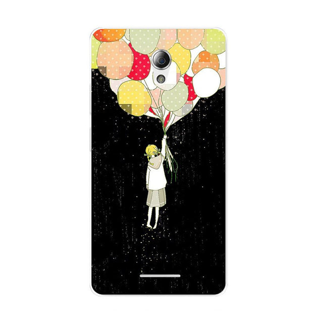 ZTE Blade A110 Case,Silicon Colorful Food Painting Soft TPU Back Cover For ZTE Blade A110 Phone Fitted Bags Shell