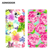 ZTE Blade A110 Case,Silicon Colorful Plant Painting Soft TPU Back Cover For ZTE Blade A110 Phone Protect Bags Shell