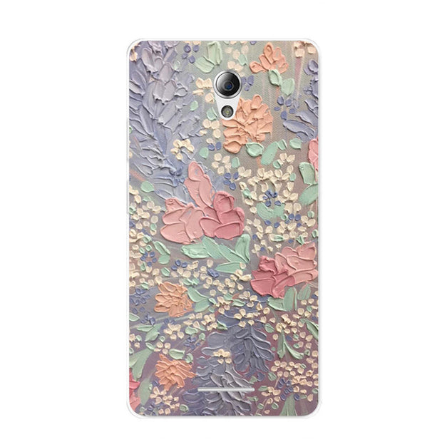 ZTE Blade A110 Case,Silicon Graffiti 3D Relief Painting Soft TPU Back Cover For ZTE Blade A110 Phone Protect Bags Shell