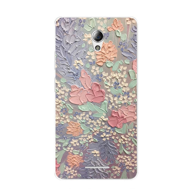 ZTE Blade A110 Case,Silicon Graffiti 3D Relief Painting Soft TPU Back Cover For ZTE Blade A110 Phone Fitted Bags Shell