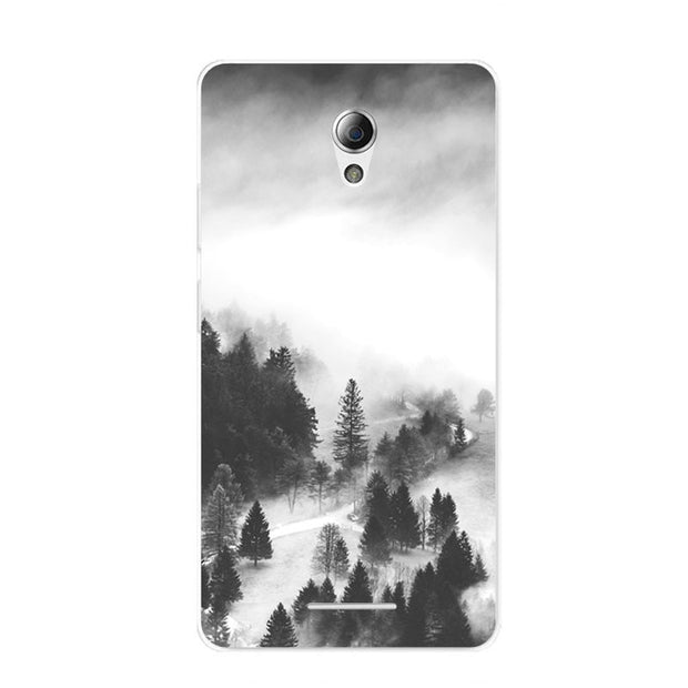 ZTE Blade A110 Case,Silicon Lovely Kitten Painting Soft TPU Back Cover For ZTE Blade A110 Phone Fitted Bags Shell