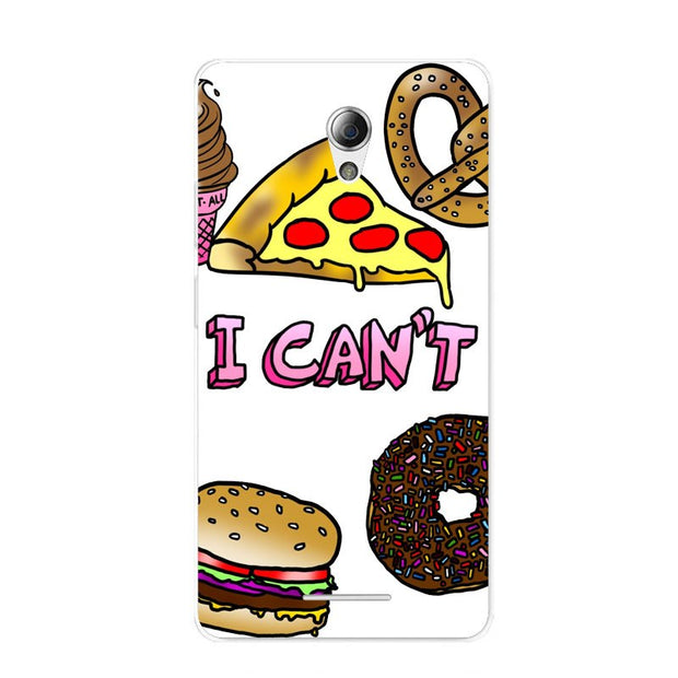 ZTE Blade A110 Case,Silicon Rich Food Painting Soft TPU Back Cover For ZTE Blade A110 Phone Fitted Bags Shell