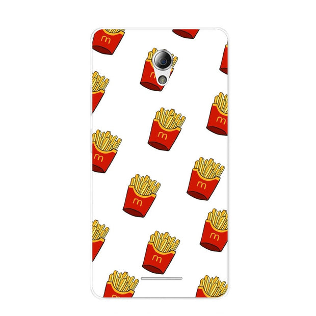 ZTE Blade A110 Case,Silicon Rich Food Painting Soft TPU Back Cover For ZTE Blade A110 Phone Protect Bags Shell