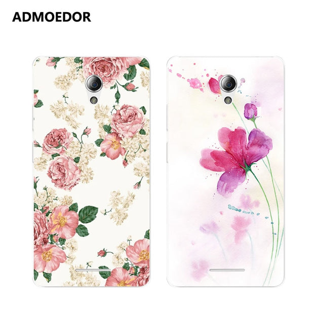 ZTE Blade A110 Case,Silicon Flowers 3D Relief Painting Soft TPU Back Cover For ZTE Blade A110 Phone Protect Bags Shell