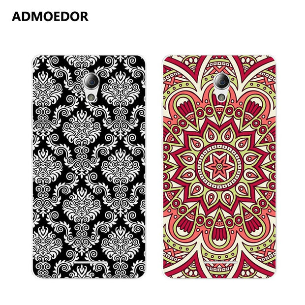 ZTE Blade A110 Case,Silicon Mandala Cartoon Painting Soft TPU Back Cover For ZTE Blade A110 Phone Protect Bags Shell