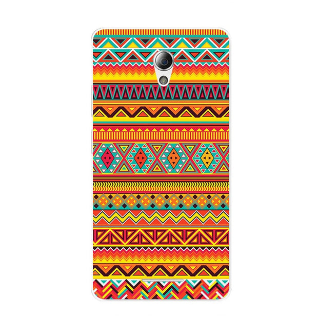 ZTE Blade A110 Case,Silicon Mandala Cartoon Painting Soft TPU Back Cover For ZTE Blade A110 Phone Fitted Bags Shell