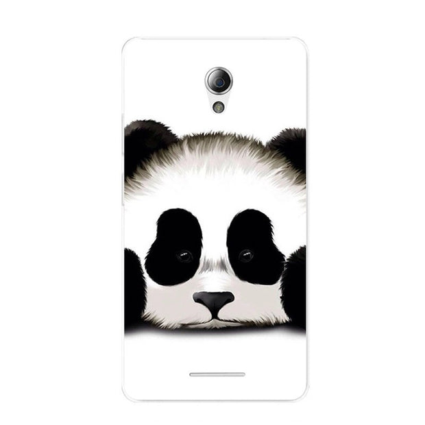 ZTE Blade A110 Case,Silicon Panda Painting Soft TPU Back Cover For ZTE Blade A110 Phone Protect Bags Shell