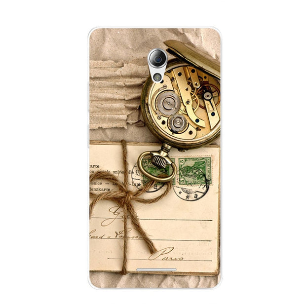 ZTE Blade L110 Case,Silicon Antique Items Painting Soft TPU Back Cover For ZTE Blade L110 Phone Fitted Bags Shell