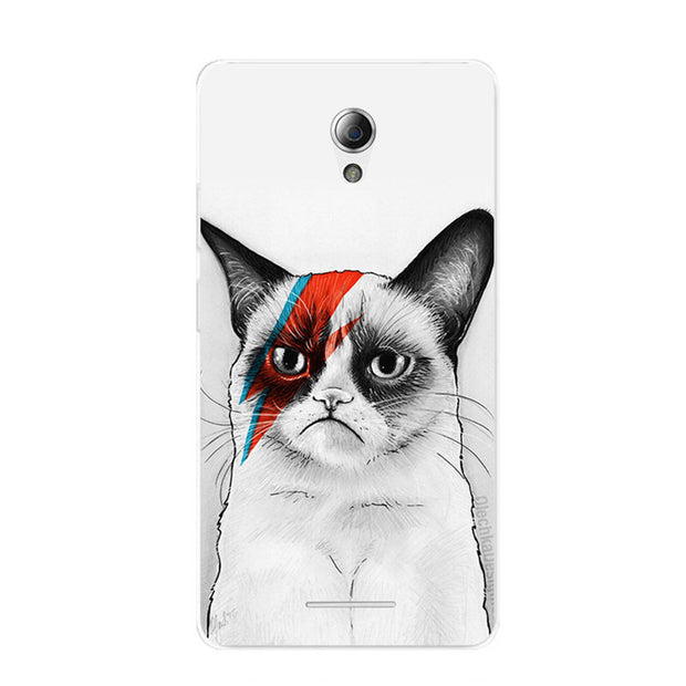 ZTE Blade L110 Case,Silicon Cartoon Animal Painting Soft TPU Back Cover For ZTE Blade L110 Phone Fitted Bags Shell