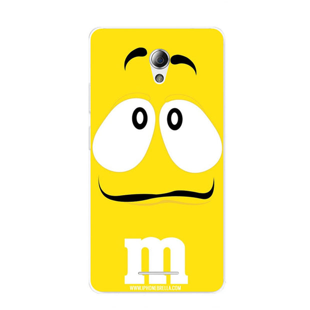 ZTE Blade L110 Case,Silicon Letter Expression Painting Soft TPU Back Cover For ZTE Blade L110 Phone Fitted Bags Shell