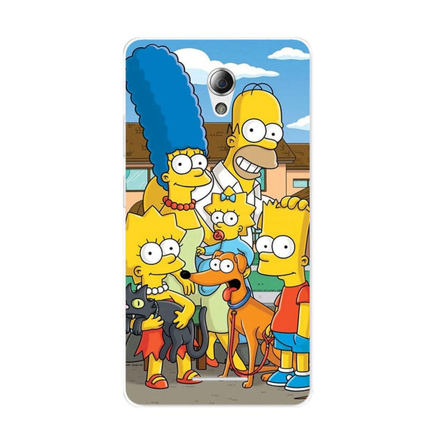 ZTE Blade L110 Case,Silicon Popular Cartoon Painting Soft TPU Back Cover For ZTE Blade L110 Phone Fitted Bags Shell