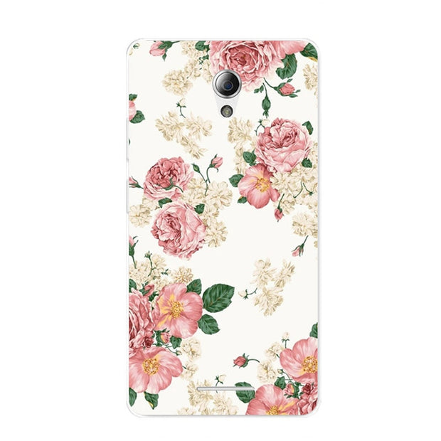 ZTE Blade L110 Case,Silicon Flowers 3D Relief Painting Soft TPU Back Cover For ZTE Blade L110 Phone Protect Bags Shell