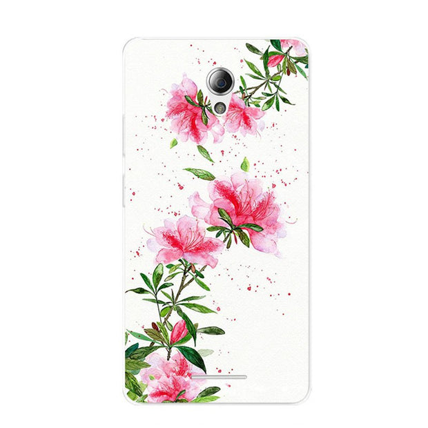 ZTE Blade L110 Case,Silicon Flowers 3D Relief Painting Soft TPU Back Cover For ZTE Blade L110 Phone Fitted Bags Shell