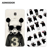 ZTE Blade L110 Case,Silicon Panda Painting Soft TPU Back Cover For ZTE Blade L110 Phone Protect Bags Shell
