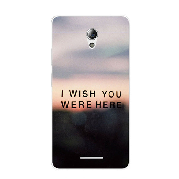 ZTE Blade L110 Case,Silicon Scenery Painting Soft TPU Back Cover For ZTE Blade L110 Phone Fitted Bags Shell