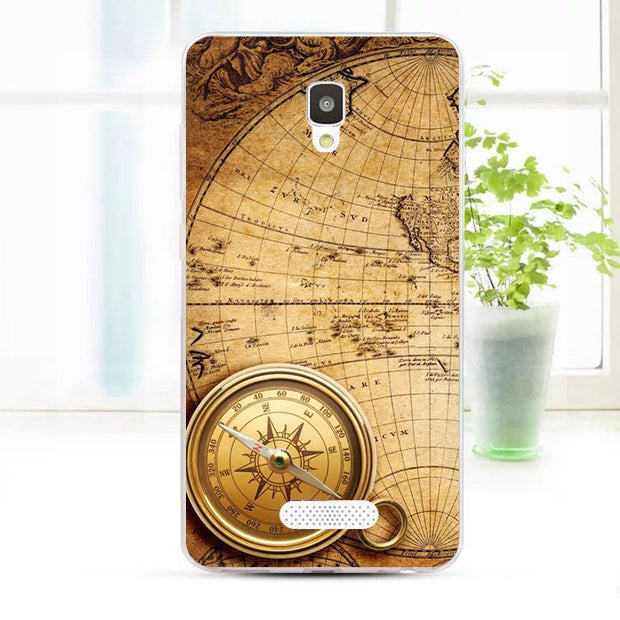 ZTE Blade L5 Plus Case,Silicon Antique Items Painting Soft TPU Back Cover For ZTE Blade L5 Plus Phone Protect Bags Shell