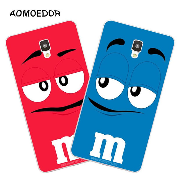 ZTE Blade L5 Plus Case,Silicon Letter Expression Painting Soft TPU Back Cover For ZTE Blade L5 Plus Phone Fitted Bags Shell