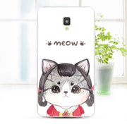 ZTE Blade L5 Plus Case,Silicon Look Cat Painting Soft TPU Back Cover For ZTE Blade L5 Plus Phone Fitted Bags Shell