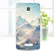 ZTE Blade L5 Plus Case,Silicon Scenery Painting Soft TPU Back Cover For ZTE Blade L5 Plus Phone Fitted Bags Shell