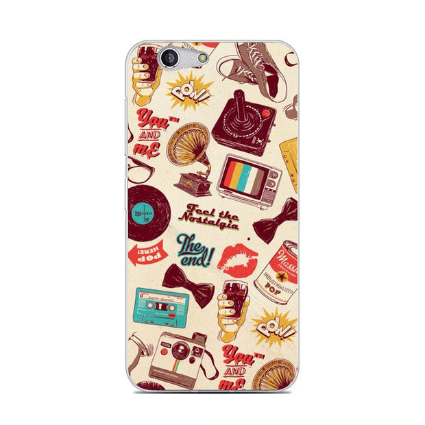 ZTE Blade Z10 Case,Silicon Fashion Cartoon Painting Soft TPU Back Cover For ZTE Blade Z10 Phone Fitted Case Shell