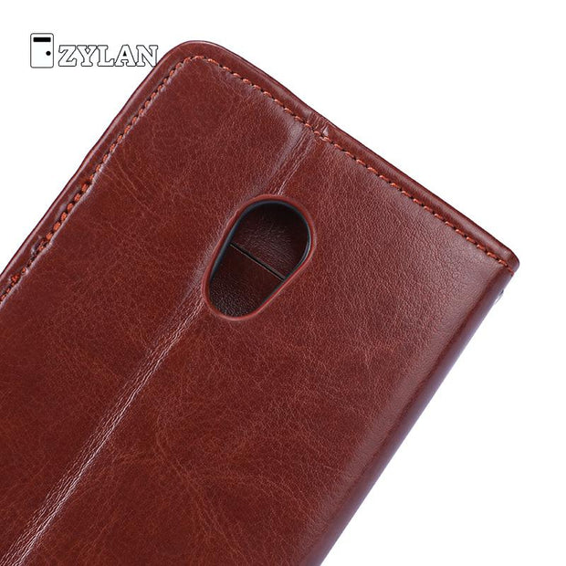 "ZYALN For Meizu Pro 6 Case Leather Cover For Meizu 6 Pro Case Luxury Vintage Wallet Case For Meizu Pro6 5.2"" Case /w Free Gift"