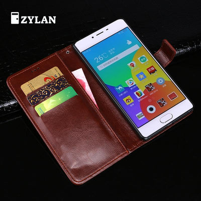 ZYLAN Case For Meizu M3 M3s Mini Comfortable Feel Leather Flip Cover Case For Meizu M3 M3 Mini M3S TPU Back Cover + Gift