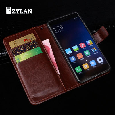 ZYLAN Case For Xiaomi Redmi Note 4 Global Version Case Flip Leather Case For Xiaomi Redmi Note 4 Carcasa 5.5 Stand /w Free Gift