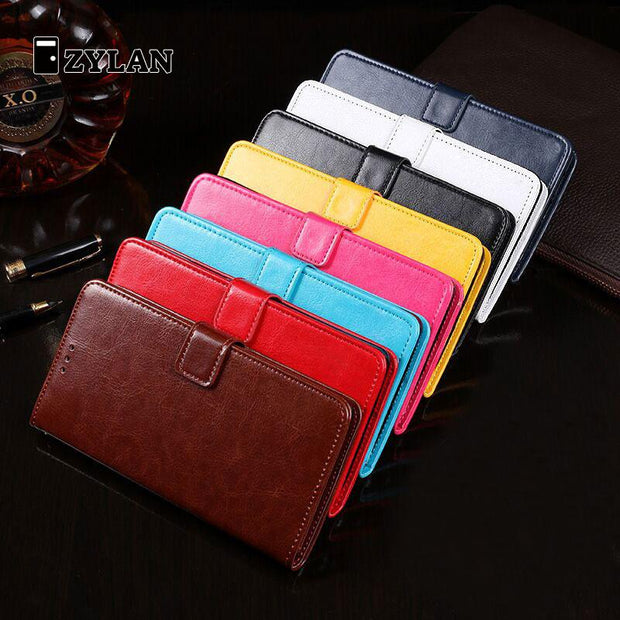 ZYLAN For Huawei Honor 9 Case Dirt Resistant PU Leather Wallet Flip Card Holder 5.15 Inch Phone Bags Cases For Huawei Honor 9