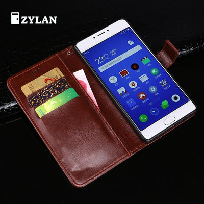 ZYLAN For Meizu Meilan Note 3 M3 Note Case Flip Leather Cover For Meizu M3 Note Phone Case For Meizu M 3 Note 5.5 + Stylus +Rope