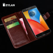 ZYLAN For Motorola Moto E4 Plus Case Leather Back Cover Phone Case For Motorola Moto E4 Plus MT6737 XT1773 XT1771 Case Flip