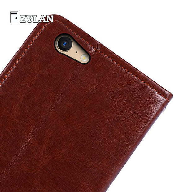 ZYLAN For OPPO F5 Case Luxury Leather Phone Shell Coque For OPPO A39 A73 A75 A75S A79 Wallet Bag Fundas Holster + FREE GIFT