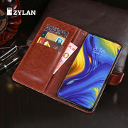 ZYLAN For Xiaomi Mi Mix 3 Case Cover Flip Leather Wallet Pouch For Coque Xiaomi Mix 3 Mi Mix3 Global Version Case Fundas & GIFT