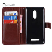 ZYLAN For Xiaomi Redmi Note 3 Case Redmi Note 3 Cover Wallet PU Leather Case For Xiaomi Redmi Note 3 Phone Bag Case +Gift