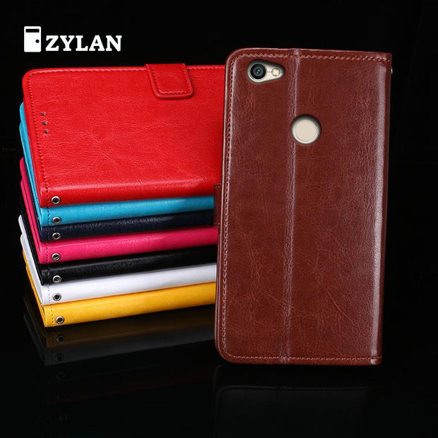 ZYLAN For Xiaomi Redmi Note 5A Note 5A Prime Case Note5A Flip Silicon Cover Red Rice 5A Prime Phone Bag Leather Case /w Gift