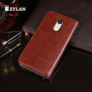 ZYLAN Leather Phone Case For Xiaomi Redmi 5 Case Wallet Cover Flip Business Coque 5.7 Inch Case For Xiaomi Redmi 5 /w Gift