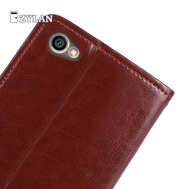 ZYLAN Luxury Leather Case For Xiaomi Redmi Note 5a Hongmi Note5a Case Phone Coque Fundas Wallet Flip Cover Card Slot /w Gift