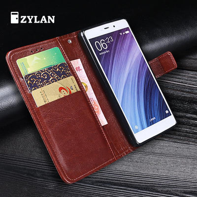ZYLAN Phone Case For Coque Xiaomi Redmi 4 Pro Redmi 4 Cases Flip Leather Cover Wallet Case For Xiaomi Redmi 4 4Pro Prime