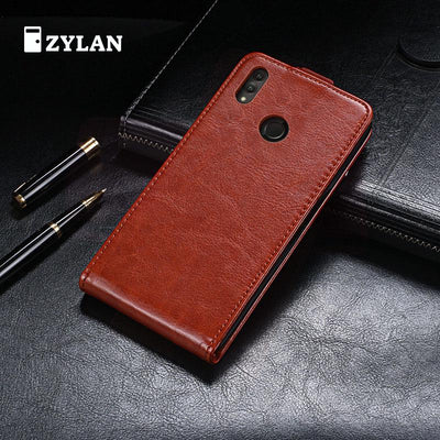 ZYLAN Up And Down Flip Leather Case Cover Stand Wallet For HUAWEI Honor Note 10 Note10 & FREE GIFT
