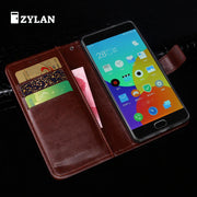 ZYLAN For MEIZU M2 Note High Quality Wallet Style Flip Leather Case For MEIZU M2 Note Metal Note 2 Note2 /w Free Gift