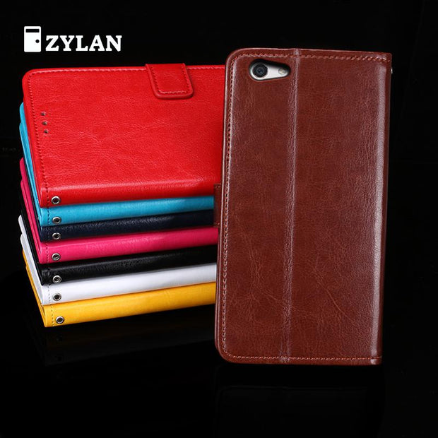 ZYLAN For OPPO R9S Plus Case Leather Flip Back Cover For 6.0 Inches Oppo R9S Plus Stand Wallet & FREE STYLUS & FREE ROPE