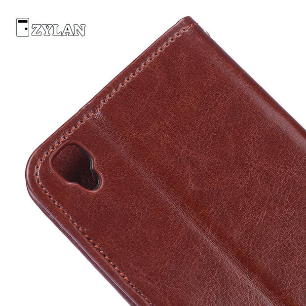 ZYLAN For Oppo A35 Wallet Cases Leather Cover For OPPO F1 Shell Funda Coque Case Cap Protector & FREE GIFT