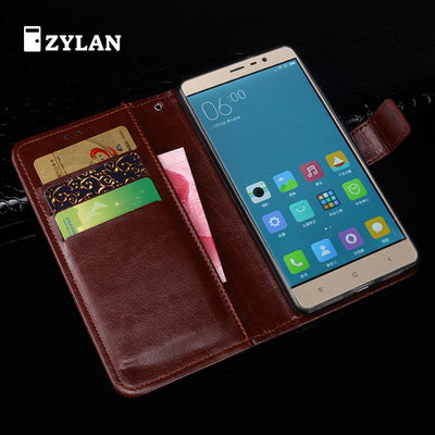"ZYLAN For Xiaomi Redmi Note 3 /Redmi Note 3 Pro Prime 5.5"" Case Mofi Flip Leather Stand Case For Xiaomi Redmi Note3 Cover +Gift"
