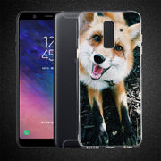 Animal Tiger Wolf Phone Case For Samsung Galaxy J2 J3 J4 Plus J5 J6 Plus J7 J8 2018 Soft Silicone Cases Cover